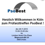 PsoBest-Prüfarzttreffen in Köln